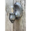 L21188 - Antique Beautifully Cast Tulip Wall Sconce