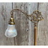 L21198 - Brass and Painted Steel Bridge Lamp