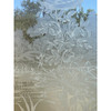 """D21113 - Pair of Antique Doors with Etched Glass 55-/34"""" x 93"""""""