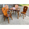 F21161 - Vintage Pine Table and Chair Set