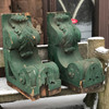907711 - Pair of Large Salvaged Antique Corbels