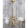 607662 - Antique Neoclassical Four Arm Ceiling Light Fixture