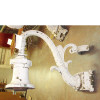 L13045 - Antique Neoclassical Style Cast Iron Exterior Sconce