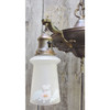 L14061 - Antique Colonial Revival Four Light Hanging Pan Fixture