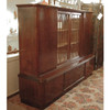 F15013 - Vintage MCM Bookmatched Walnut Credenza/Bar