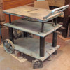F16032 - Vintage Industrial Steel Die Maker's Cart