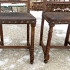 F16182 - Set of Seven Antique Italian Renaissance Revival Oak Dining Chairs