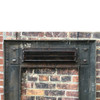 M17002 - Antique Aesthetic Movement Cast Iron Firebox Surround