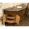 P17009 - Vintage Vanity With Granite Top