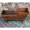 F17102 - Antique Victorian Walnut Cradle