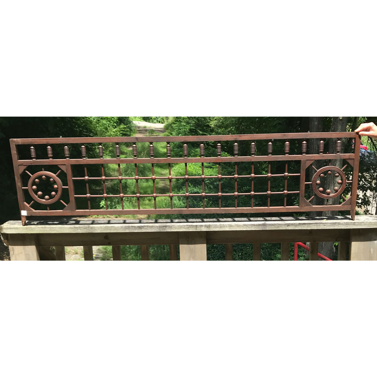 S18074 - Antique Victorian Cherry Fretwork