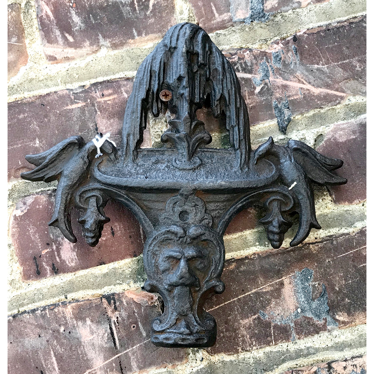 A18117 - Antique Cast Iron Finial