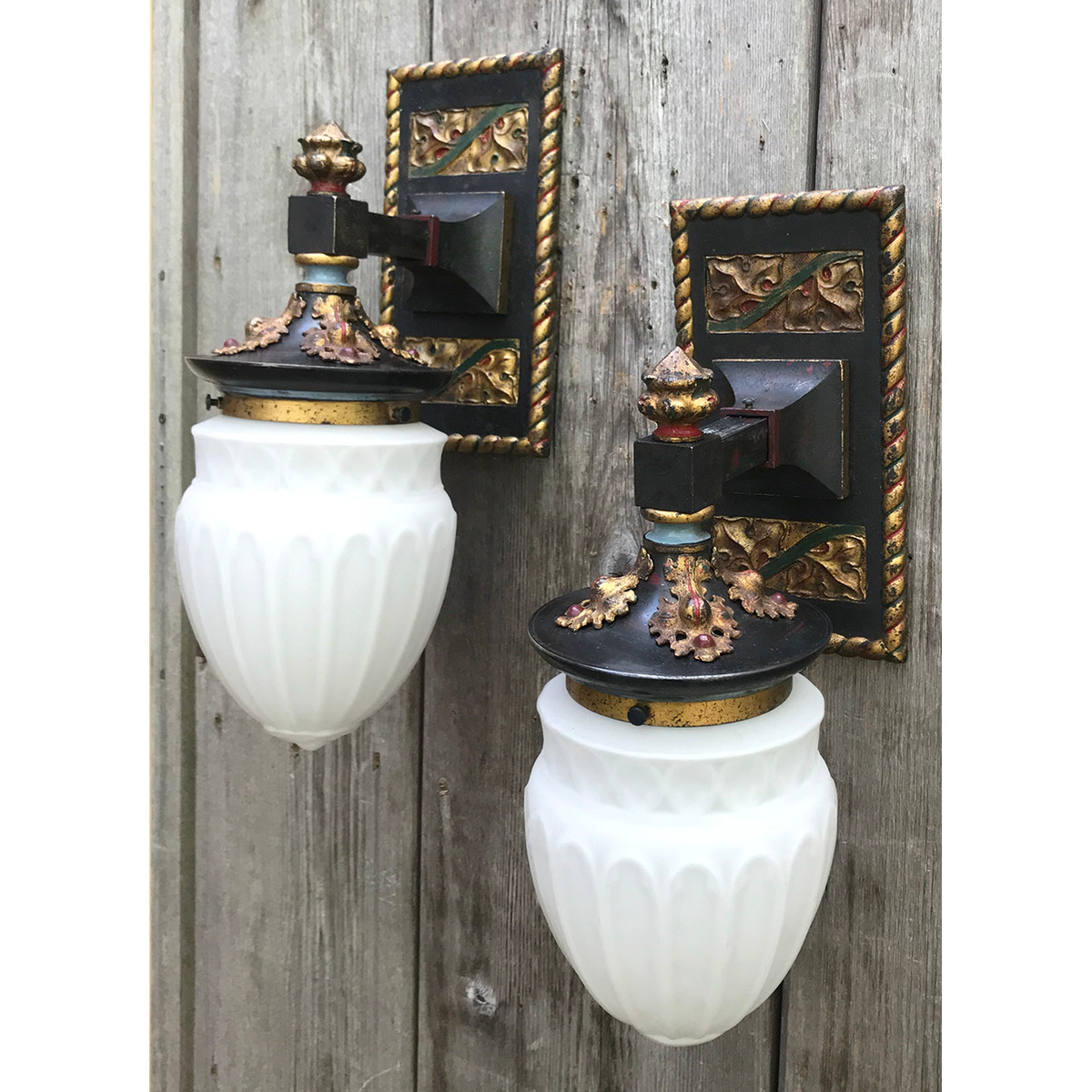 L18127 - Pair of Gothic Revival Style Sconces