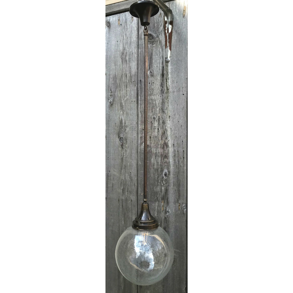 L19070 - Antique Single Light Pendant Fixture