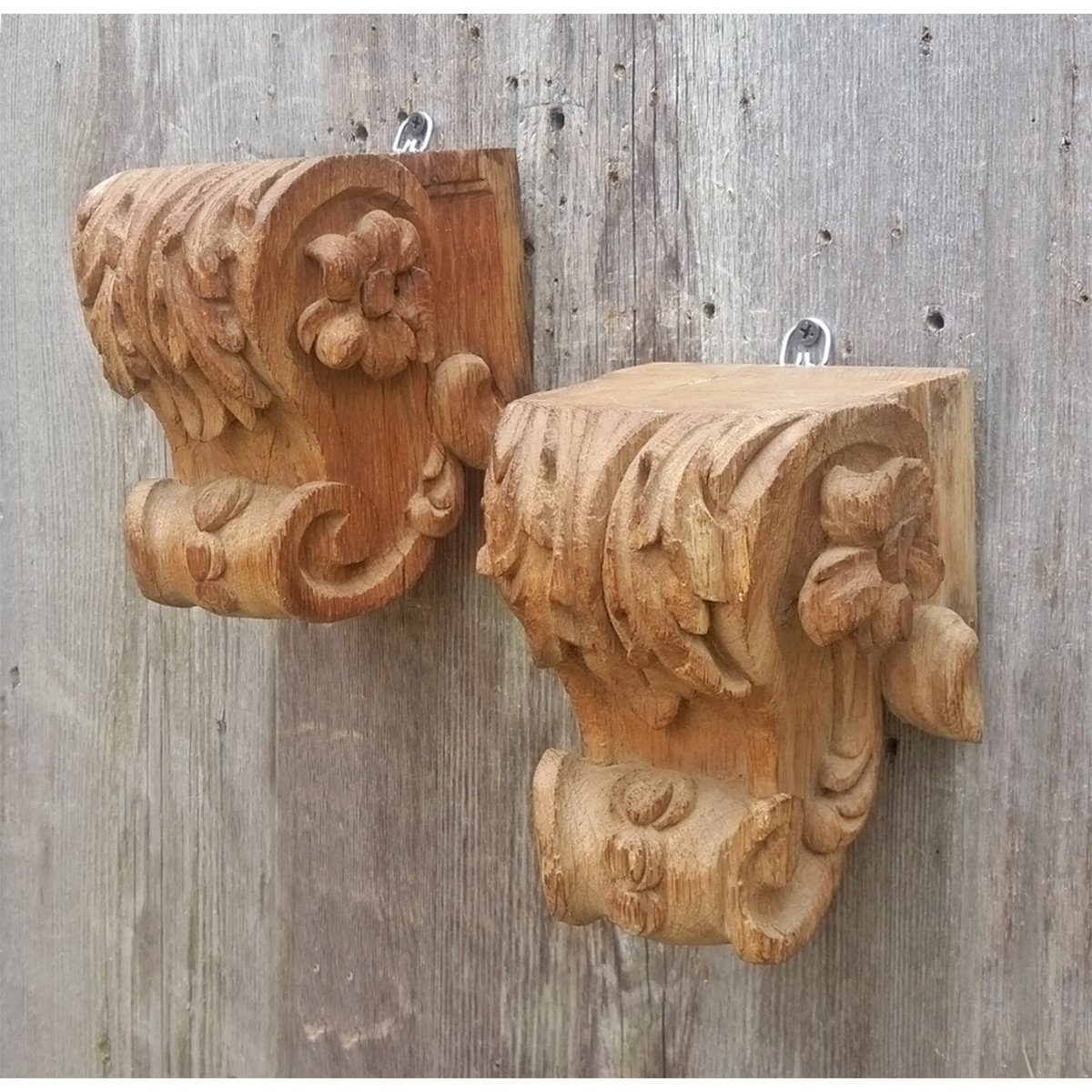 A19023 - Pair of Carved Corbels