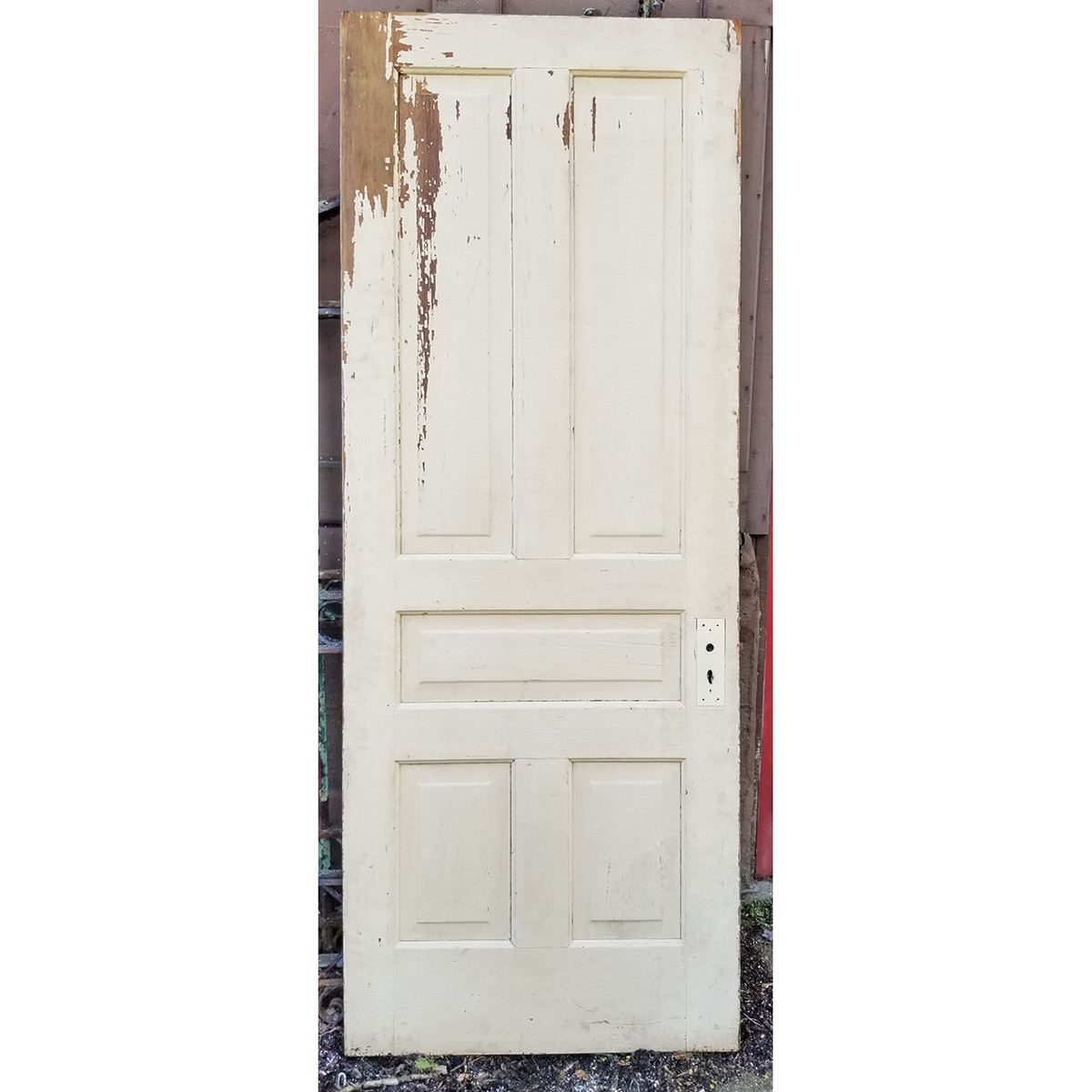 "D20024 - Antique Pine Five Panel Door 31-1/2"" x 83-3/4"""