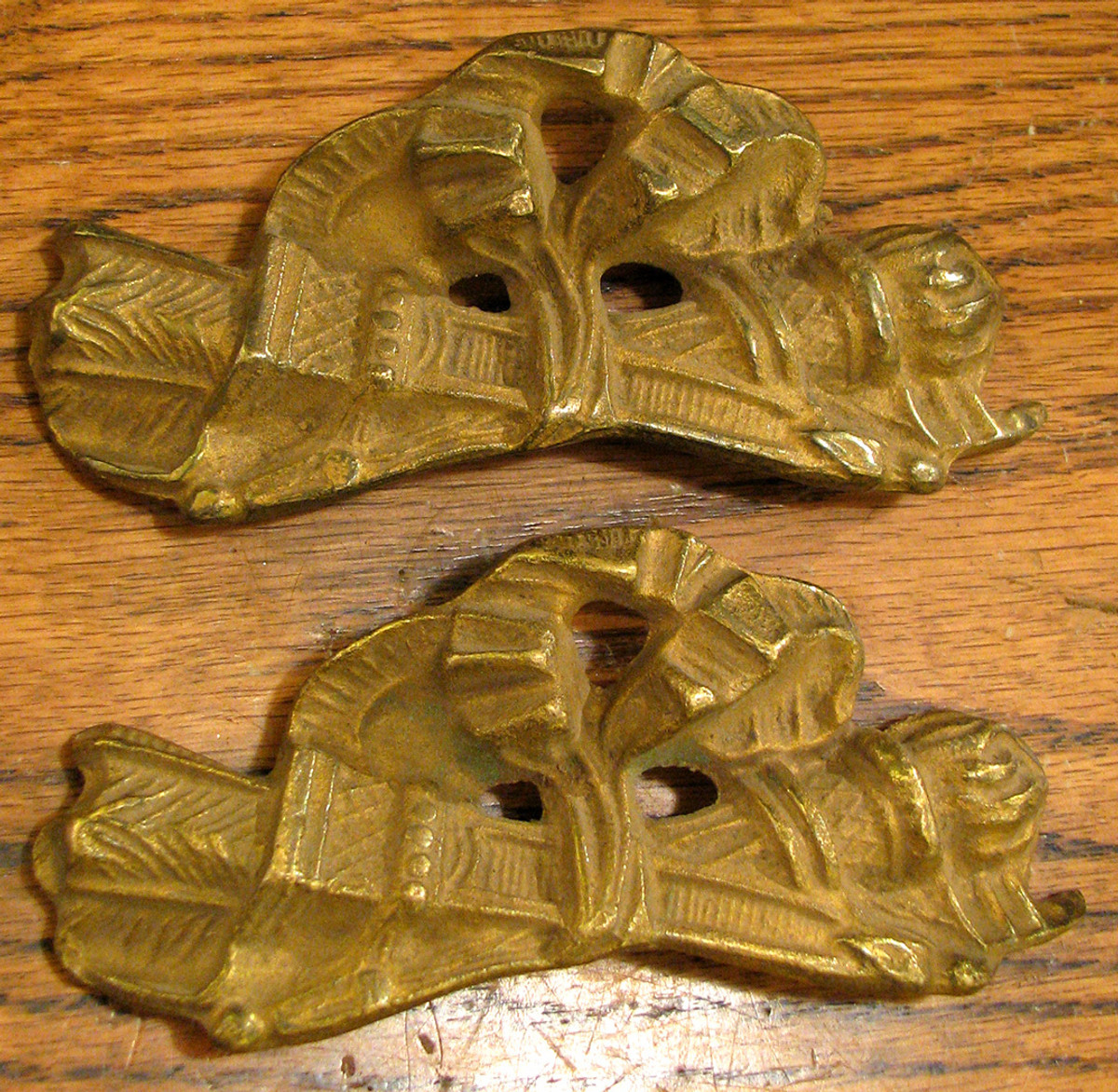 H12154 - Pair of Antique Furniture Pulls