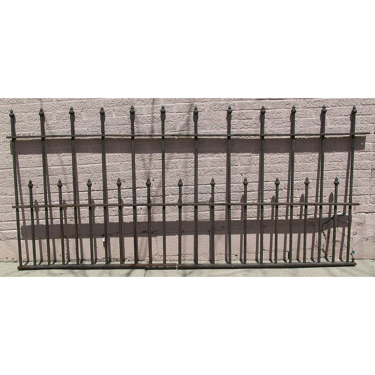 S13068 - Antique Wrought Iron Fencing