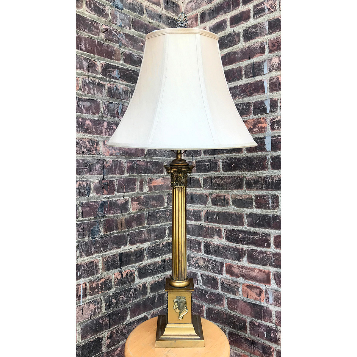 L15178 - Antique Colonial Revival Table Lamp