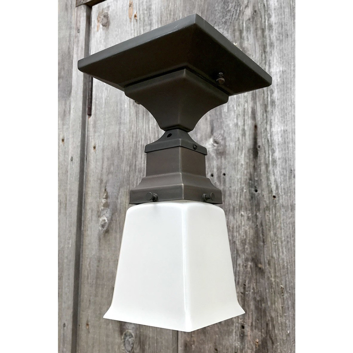 L17092 - Reproduction Arts & Crafts Flush Mount Fixture