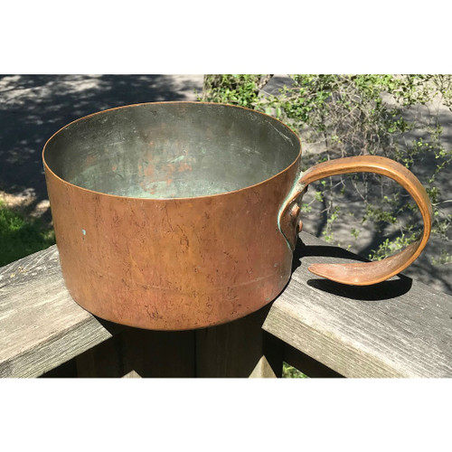 A18056 - Antique 19th Century Copper Sauce Pan