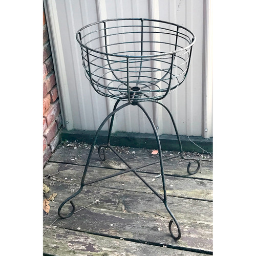 A18089 - Antique Wire Flower Basket