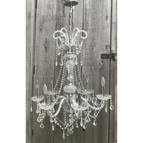 L20022 - Vintage Six Arm Chandelier