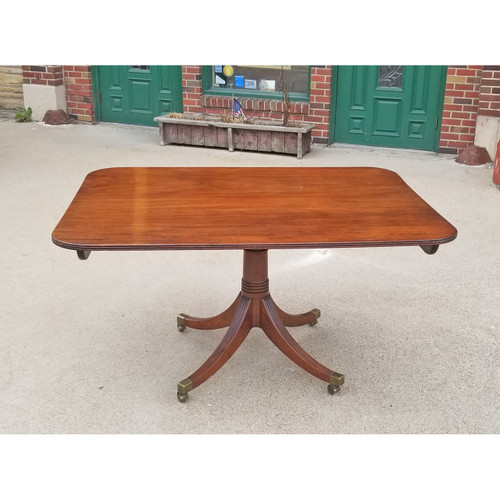 F20023 - Antique Mahogany Regency Period Tilt Top Table