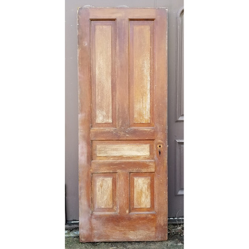 "D20015 - Antique Pine Five Panel Door 32"" x 83-1/2"""