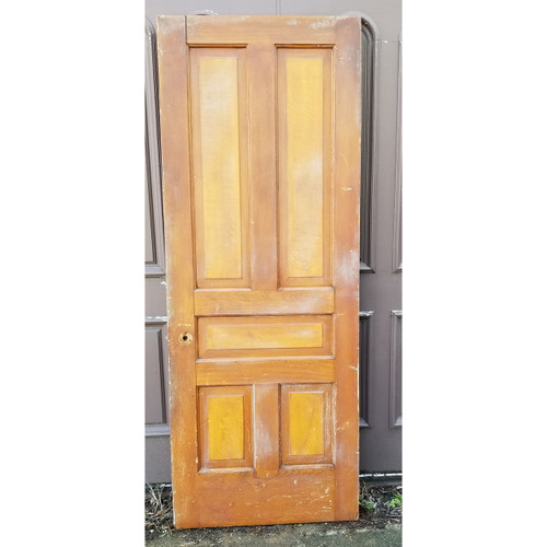 "D20016 - Antique Pine Five Panel Door 32"" x 83-1/2"""