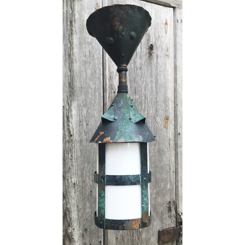 L20041 - Antique Copper Exterior Light Fixture
