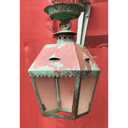 L20042 - Antique Exterior Light Fixture - Currently Unrestored