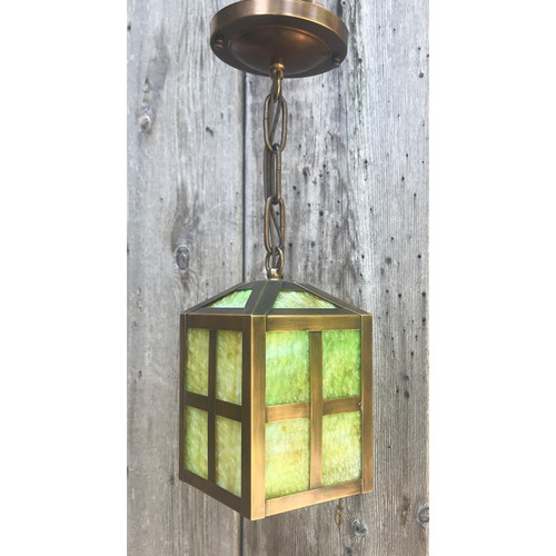 L20053 - Antique Arts & Crafts Lantern Fixture