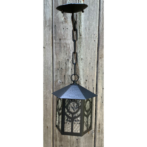 L20059 - Antique Arts & Crafts Lantern Fixture