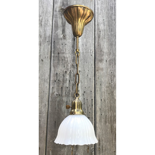 L20074 - Antique Single Light Pendant Fixture