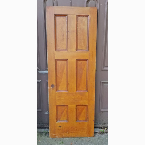 "D20093 - Antique Six Panel Interior Door 29"" x 79"""