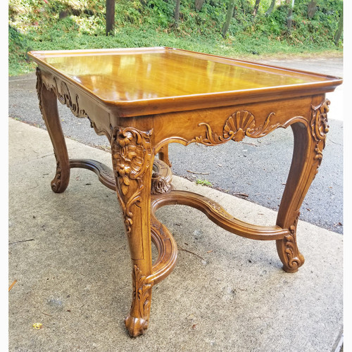 F20073 - Antique French Colonial Revival Center Table