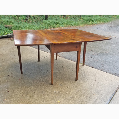 F20075 - Antique Mahogany Country Chippendale Gateleg Table