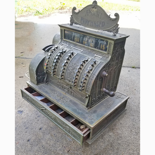 "A20031 - Antique ""National"" Cash Register"