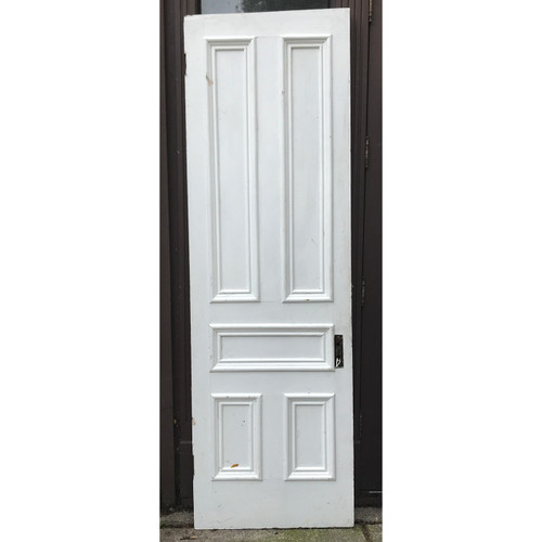 "D20102 - Antique Painted Pine Traditional Five Panel Interior Door 27-3/4"" x 87-3/4"""