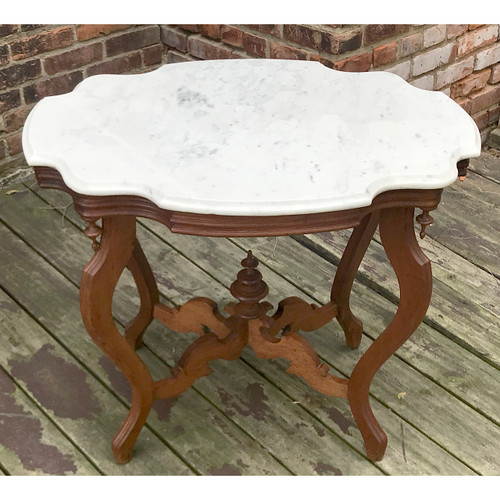 F20076 - Antique Renaissance Revival Style Parlor Table