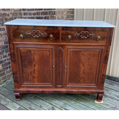 F20095 - Antique Victorian Mahogany Sideboard