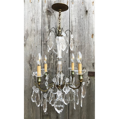 L20161 - Vintage Four Arm Candle Fixture