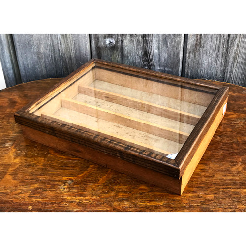 A21009 - Vintage Oak Display Case