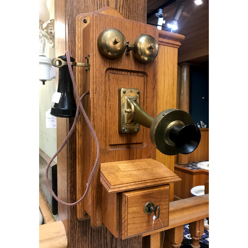 A21012 - Vintage Reproduction Wall Hung Telephone