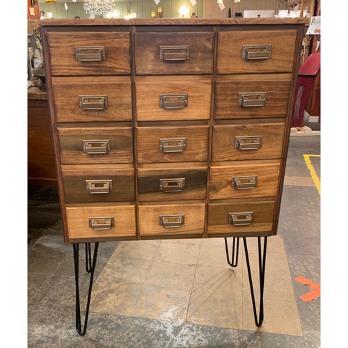 F21007 - Vintage Pharmacy Cabinet