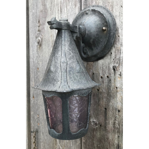 L21017 - Antique Exterior Tudor Revival Porch Sconce