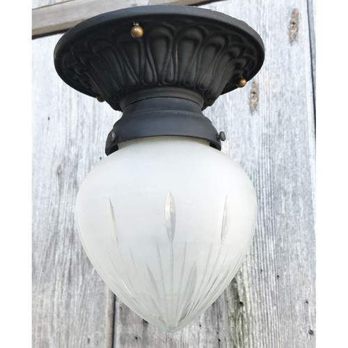 L21020 - Custom Flush Mount Porch Light