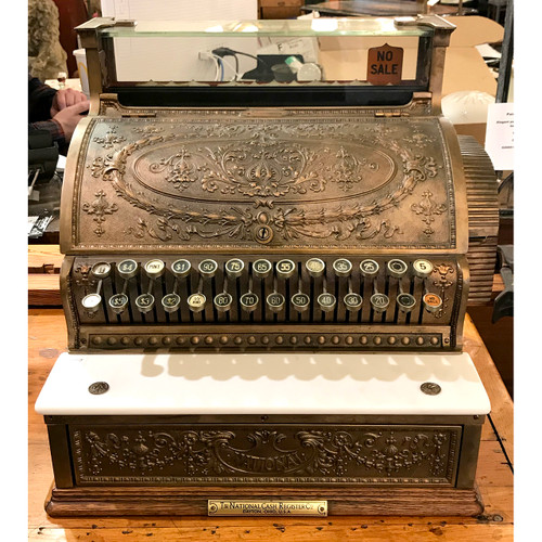 A21018 - Antique National Cash Register