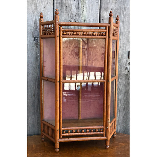 F21018 - Antique Display Cabinet